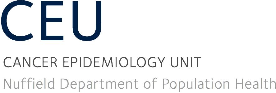 Cancer Epidemiology Unit (CEU)